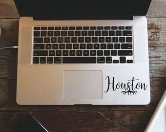 Atom Macbook Decal Science Stickers Nerd Decal MacBook - Vinyl decals houston tx