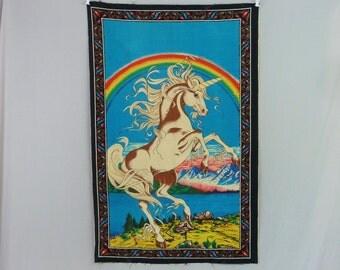 Unicorn Fabric Etsy
