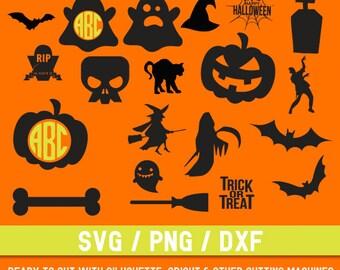 Halloween svg, Halloween logo svg,Halloween cut file, Halloween silhouette, Halloween clip art, Holiday svg, Halloween png,Digital