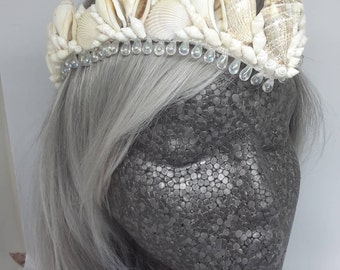 Curved Mermaid Crown