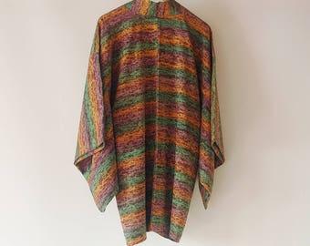 Vintage Japanese Kimono Haori / beautiful gradation designs / Kimono jacket