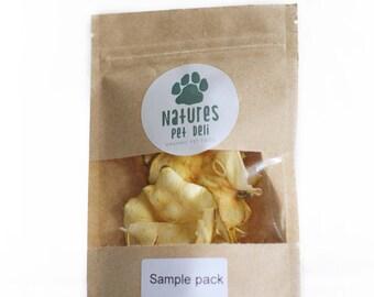 Organic Apple Pet Treat - Air dried - Hand Made