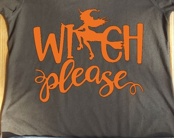 Witch please v neck