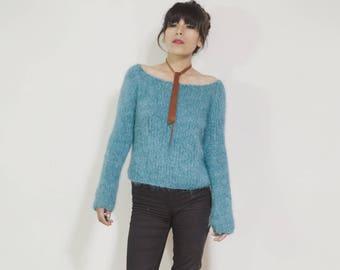 Alpaca Cozy Sweater, Hand Knitted Alpaca Sweaters, Chunky Alpaca sweaters, Hand knitted Sweater, Slouchy Sweater, Alpaca Knit Pullover, Gift