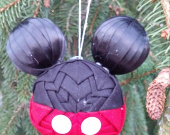 3 Inch Mickey Mouse Ornament - Made to order