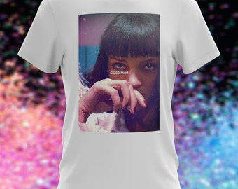 Pulp Fiction Uma Thurman Goddamn T-Shirt