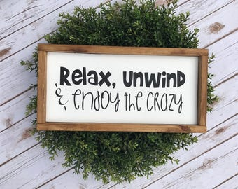 Relax unwind and enjoy the Crazy 8x16
