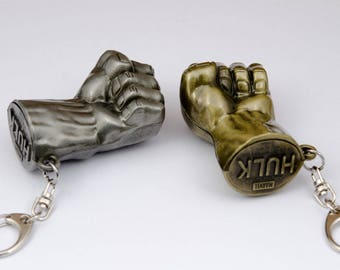 Marvel The Avengers 3D Printed keychain - HULK keychain - Hulk Fist Keychain - Ironman keychain - Captain America keychain - Thor keychain