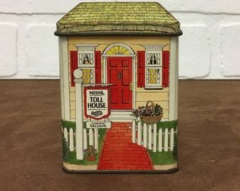 1990 Small Nestle Toll House Tin