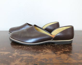 1970s Vintage Leather Loafers