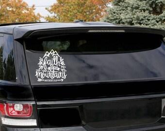 Bible Verse Sticker Etsy - Bible verse custom vinyl decals for car