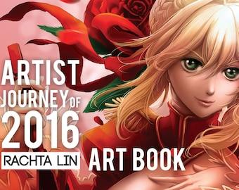Artist Journey of 2016 - Rachta Lin // Art Book