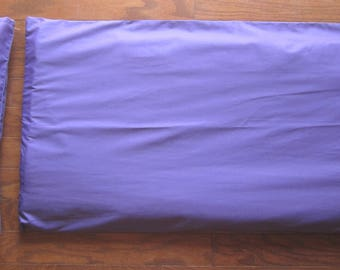 Solid Colors - Nap Mat Cover with Matching Pillow Cover