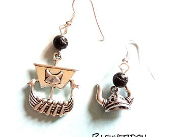 Viking inspired earrings