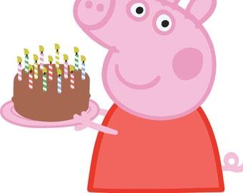 Peppa Pig Dxf Etsy