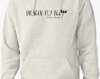 Dragon Fly Inn UNISEX Pullover Hoodie Sweater