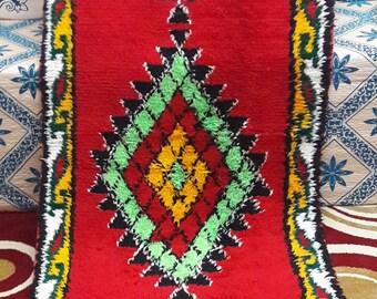 BOUCHEROUITE RUG carpet carpets rugs MOROCCAN berber handmade cotton blend