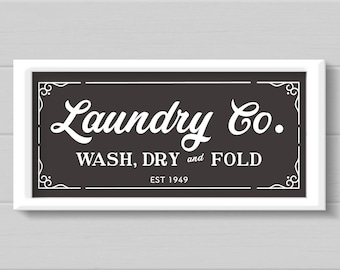 Laundry SVG, Laundry Room Sign, Magnolia Farms SVG, Rustic Laundry Sign, Laundry Co,  SVG, Cut File, Print, Sticker, Fixer Upper Sign
