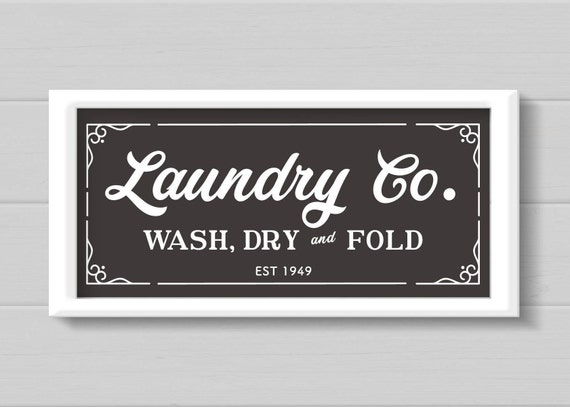 Rustic Laundry Sign Laundry Svg Laundry Room Sign Magnolia Farms Svg Rustic