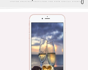 Custom Snapchat Geofilter for Wedding, Social Media , Snapchat Filter, Snapchat Geofilter