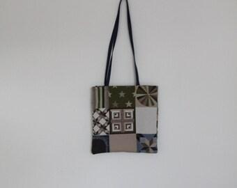 Tote bag patchwork look