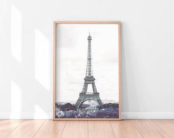 Paris Wall Art, Urban Photography, Paris Digital Print, City Photo, Printable Wall Art, Digital Download, Instant Download Printable Art