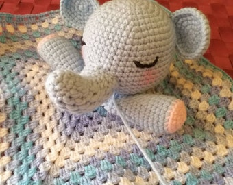 Sleepy Head Baby Blanket