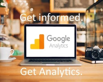 Google Analytics, Track visitors on your website and their interactions, Increase sales and visits.