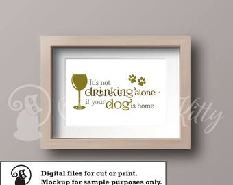 Cat svg, dog svg pack, drinking sign, cat lover, dog lover, ai dxf emf eps pdf png psd svg svgz tif files for cricut, silhouette, brother