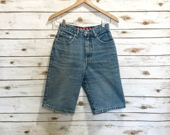 Vintage Ethyl Denim Shorts, Vintage High Waist Ethyl Denim Jean Shorts Size 27