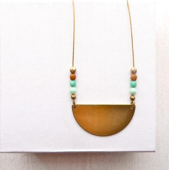 Reflection Necklace > Turquoise