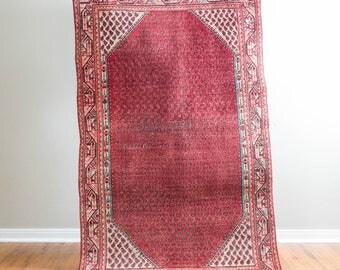 4x7 Vintage Persian Carpet
