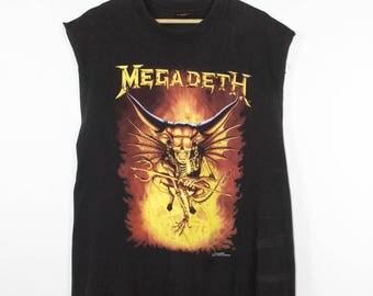 MEGADETH countdown to extinction shirt - vintage - brockum 1993