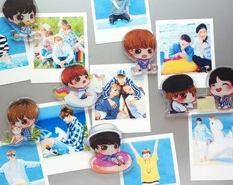 BTS Acrylic Magnet Charm V Jungkook Jimin Jin Suga J-Hope RM Rap Monster Summer Package Coron
