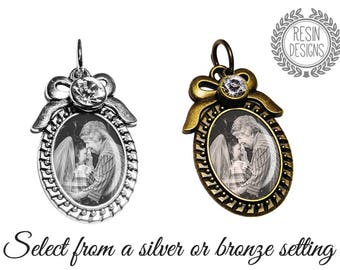 Memorial Charm, Wedding Bouquet Charm, Photo Charm, Personalized, Memory Charm, Bouquet Brooch, Bridal Gift, Brooch, Custom, Bridal Bouquet