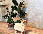 Irish Pottery Sheep - Courtmacsherry Ceramics  Ireland - Handcrafted Pottery - Vintage Studio Pottery - Farm house decor - Irish Pottery