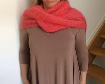 mohair and silk shawl