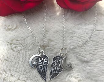Moon Sisters Necklace Set