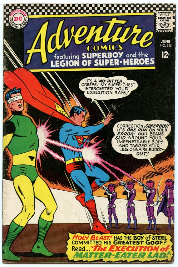 Adventure Comics 345 Jun 1966 FI- (5.5)