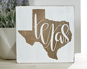High Quality Texas Sign, Texas Decor, Wood State Sign, Texas Gift, Texas Wall Art Part 16
