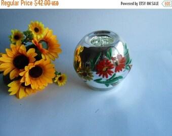 ON SALE Vintage Mercury Glass Vase,Old Mirrored Vase,Sphere Mercury Vase,Mercury Glass Vases,Oval Glass Vases,Ball Mercury Vase,Globe Mirror