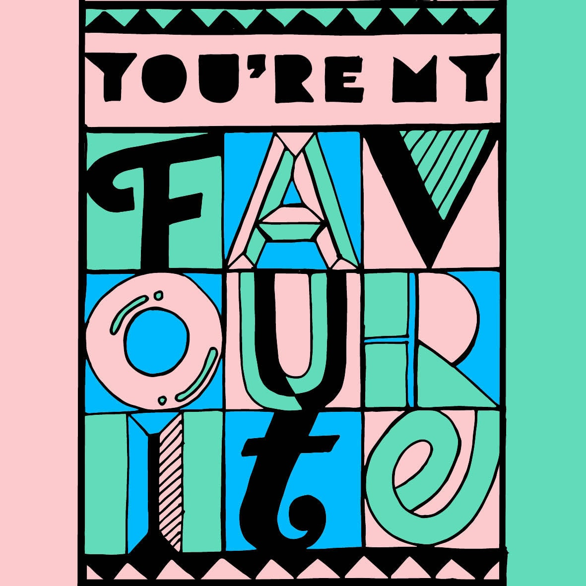 365 days of type favourite