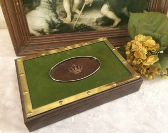 Vintage Menu0027s Jewelry Box By Griffon Of Sweden/ Mid Century/Gift For Guy