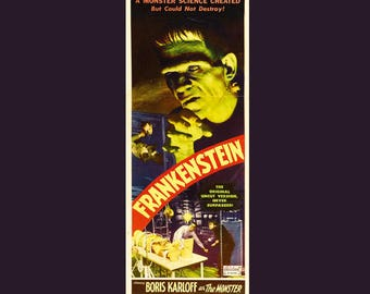 Frankenstein 1931 Theatrical Movie Poster Finest Quality Many Sizes Available