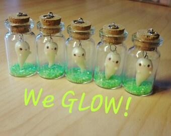 SALE! Glowing Kawaii Ghost In Bottle