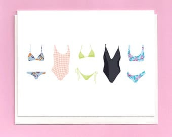 Swimsuits Card
