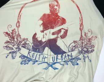 2nd CHANCE DRESS - TOP//Concert Tee//Keith Urban// Up-cycled Top or Dress