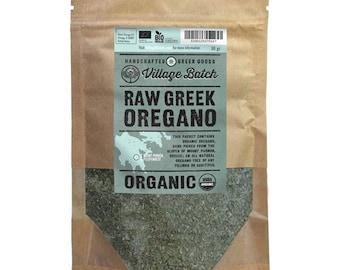 Organic Greek Oregano