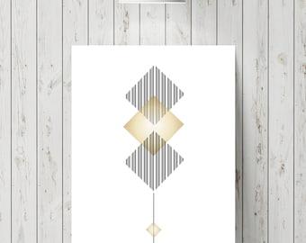 Abstract tree poster/printable