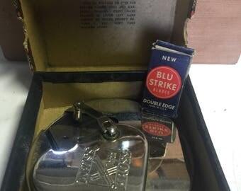 Antique collectible Rolls Razor and Kriss Kross stropper razor blade sharpeners
